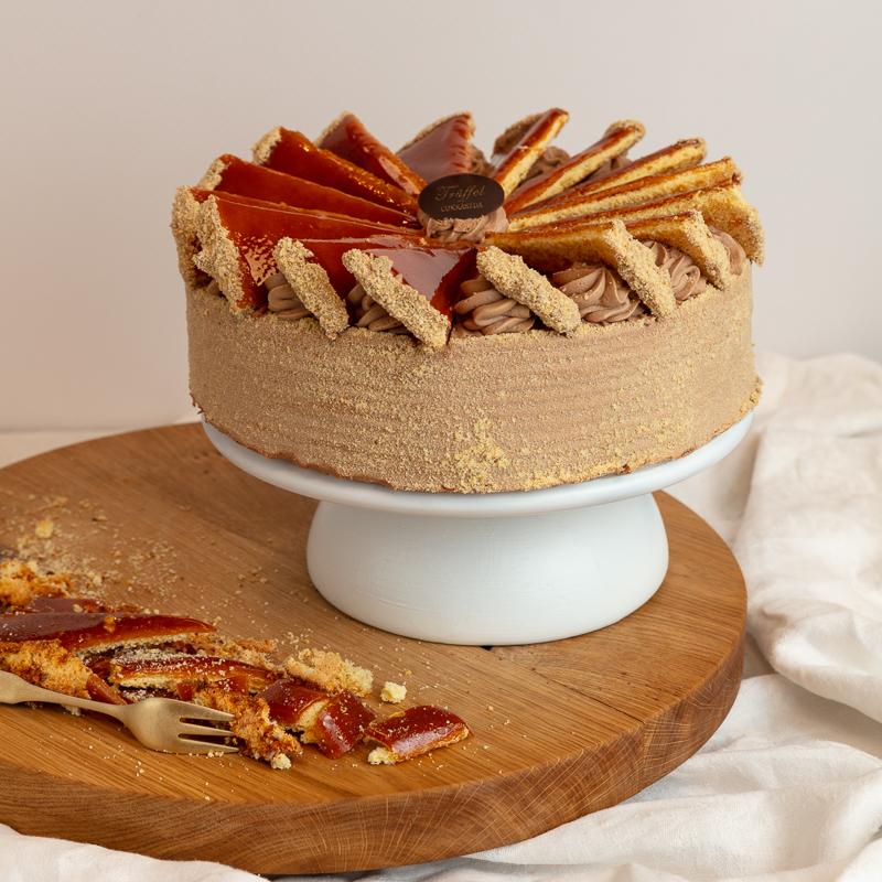 Dobos torta 16 szeletes