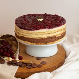 Fertődi Kirsch torta 16 szeletes