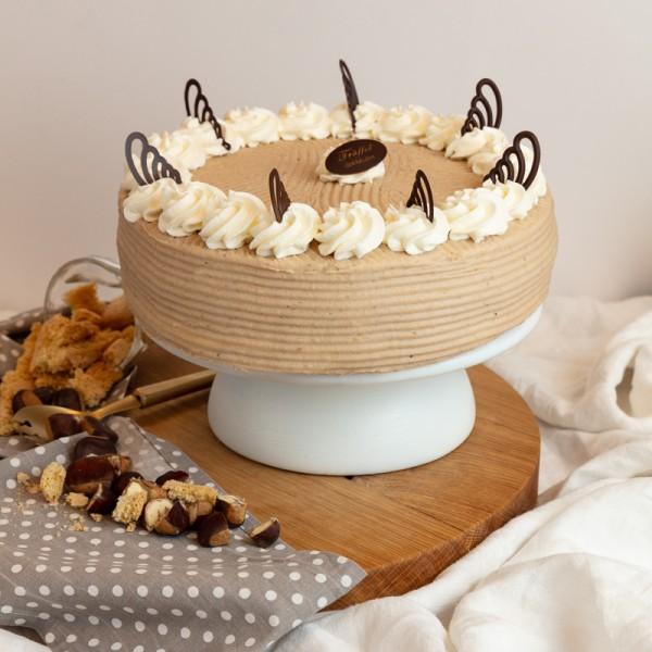 Mascarponés Gesztenye torta 16 szeletes