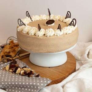 Mascarponés Gesztenye torta 10 szeletes