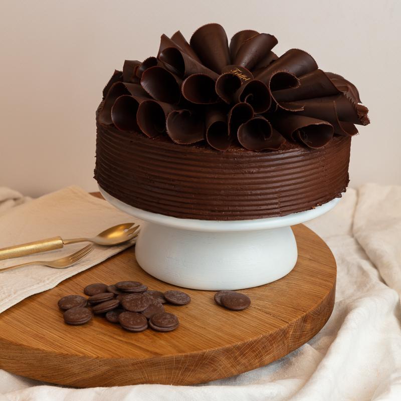 Nyírfacukros Mascarponés Csokoládé torta 10 szeletes