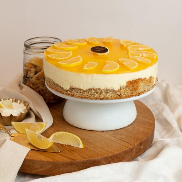 Cukor- és Lisztmentes Görög Citrom torta 16 szeletes