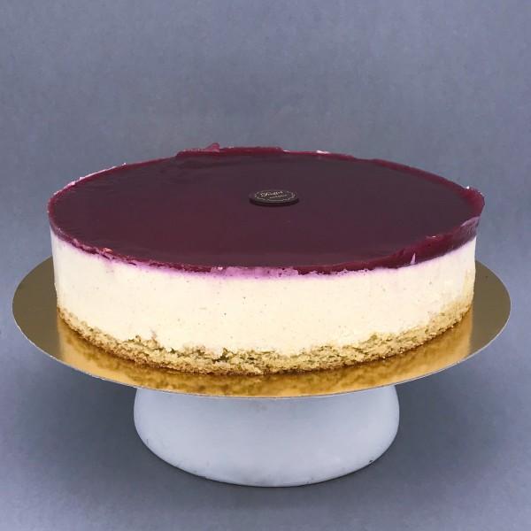Cukor- Liszt- és Tejmentes Epres Túró torta 16 szeletes