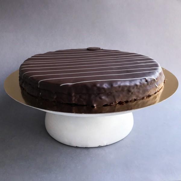 Ischler torta Meggylekvárral