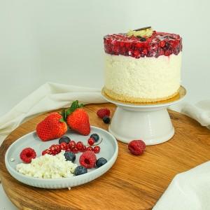 Mini Málnás Túró torta