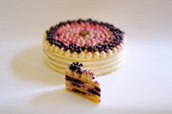 Áfonyás Citrom torta
