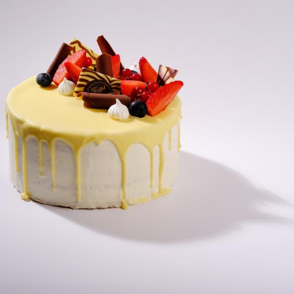 Fehércsokis Trüffel torta