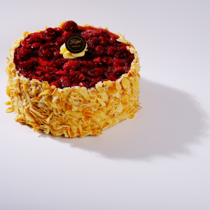 Nyírfacukoros Málnás Túró torta