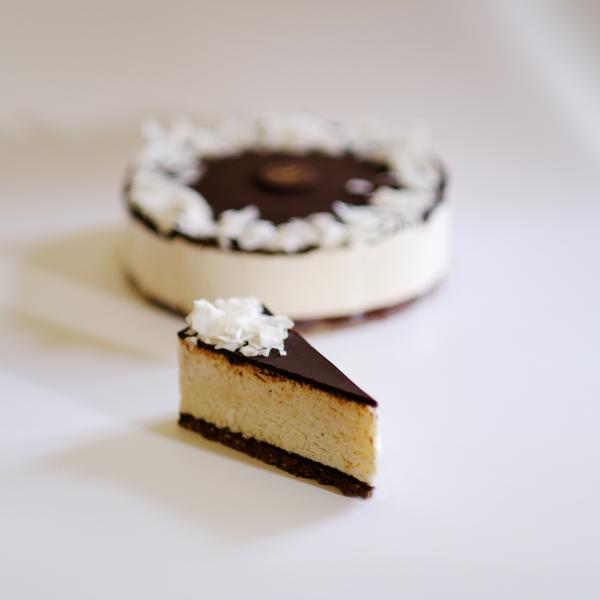 Vegán Kókusz-csoki tortaszelet